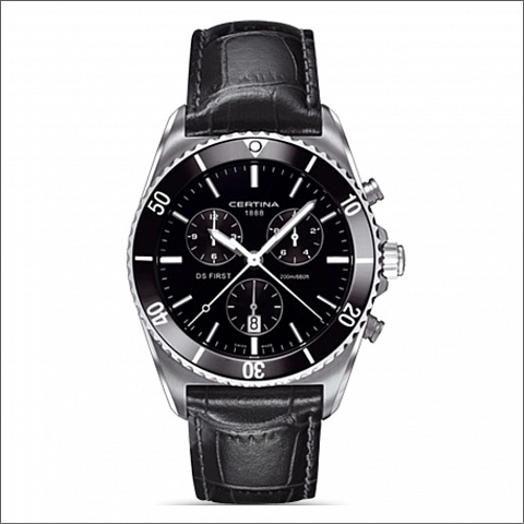 CERTINA DS First Chronograph C0144171605100