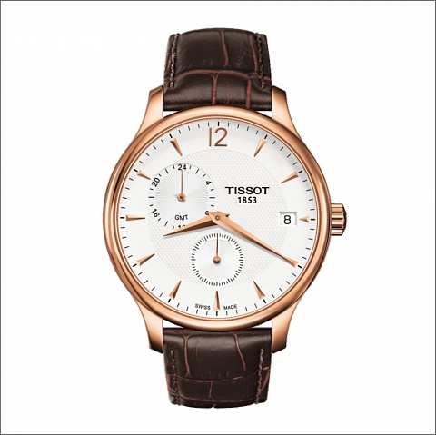 TISSOT TRADITION GMT T0636393603700