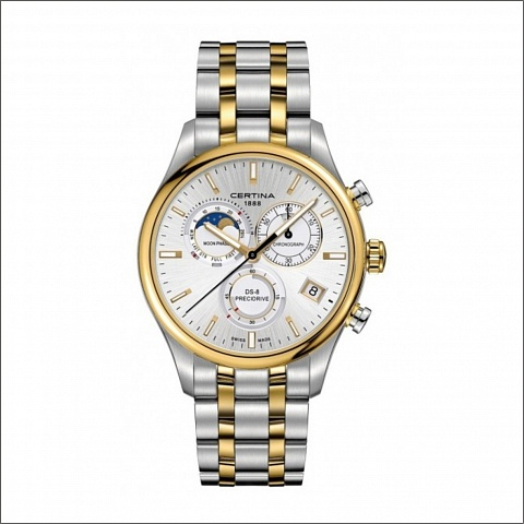 CERTINA DS-8 Chrono Moon Phase C0334502203100